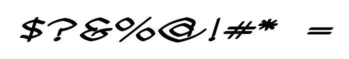 Llynfyrch Fwyrrdynn SemiBold Font OTHER CHARS