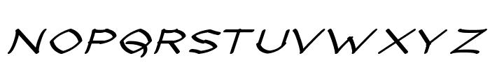 Llynfyrch Fwyrrdynn SemiBold Font UPPERCASE