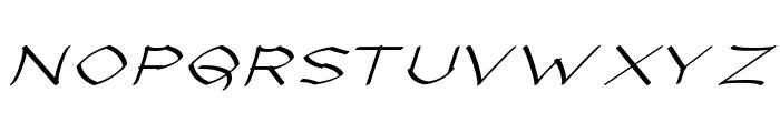 Llynfyrch Fwyrrdynn Font UPPERCASE