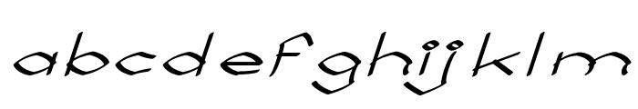 Llynfyrch Fwyrrdynn Font LOWERCASE