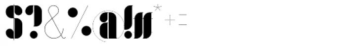 Lloyd Serif Font OTHER CHARS