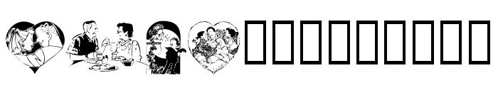 LM Romantix Font UPPERCASE