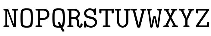 LMMono10-Regular Font UPPERCASE