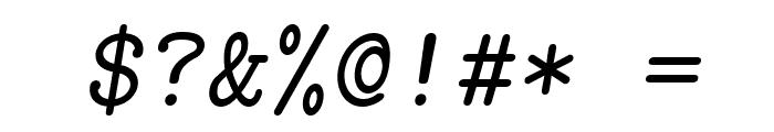 LMMonoCaps10-Oblique Font OTHER CHARS