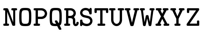 LMMonoLt10-Bold Font UPPERCASE