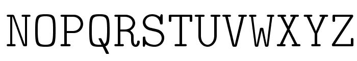 LMMonoLt10-Regular Font UPPERCASE