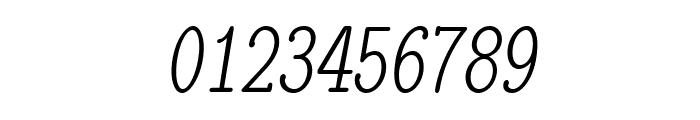 LMMonoLtCond10-Oblique Font OTHER CHARS