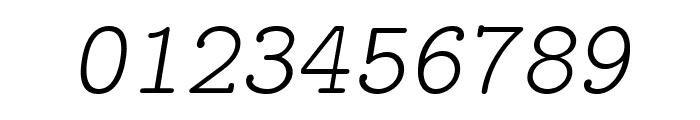 LMMonoPropLt10-Oblique Font OTHER CHARS