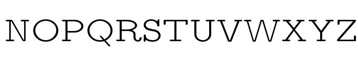 LMMonoPropLt10-Regular Font UPPERCASE