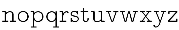 LMMonoPropLt10-Regular Font LOWERCASE