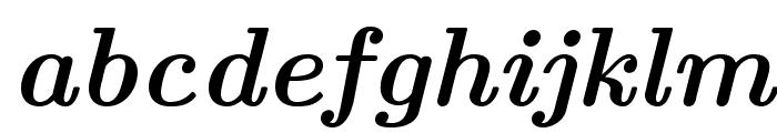 LMRoman10-BoldItalic Font LOWERCASE