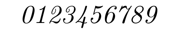 LMRoman10-Italic Font OTHER CHARS