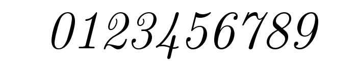 LMRoman12-Italic Font OTHER CHARS