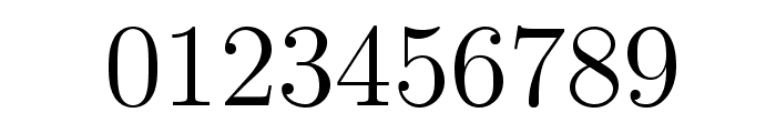 LMRoman12-Regular Font OTHER CHARS
