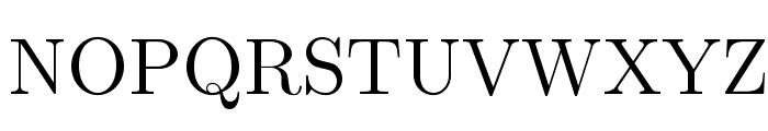 LMRoman12-Regular Font UPPERCASE