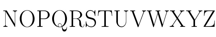 LMRoman17-Regular Font UPPERCASE