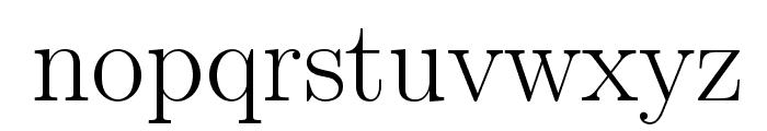 LMRoman17-Regular Font LOWERCASE