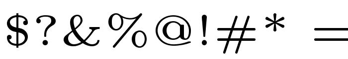 LMRoman5-Regular Font OTHER CHARS