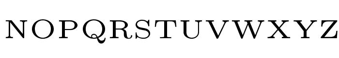 LMRoman5-Regular Font UPPERCASE