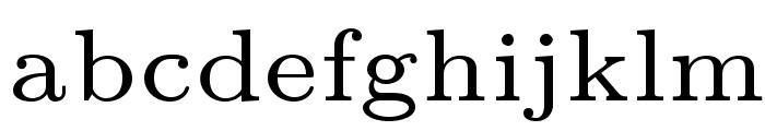 LMRoman6-Regular Font LOWERCASE