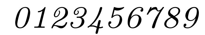 LMRoman7-Italic Font OTHER CHARS