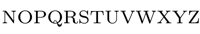 LMRoman7-Regular Font UPPERCASE
