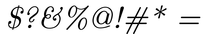 LMRoman9-Italic Font OTHER CHARS