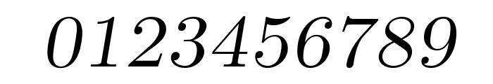 LMRomanCaps10-Oblique Font OTHER CHARS