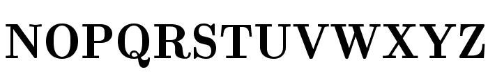 LMRomanDemi10-Regular Font UPPERCASE