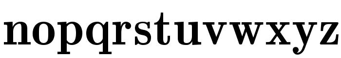 LMRomanDemi10-Regular Font LOWERCASE