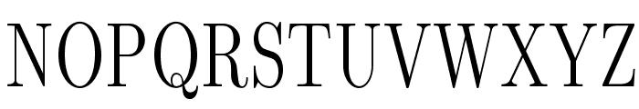 LMRomanDunh10-Regular Font UPPERCASE