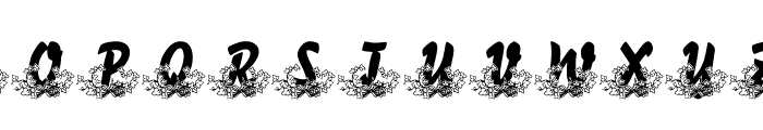 LMS Bed of Ivy and Ribbons Font LOWERCASE
