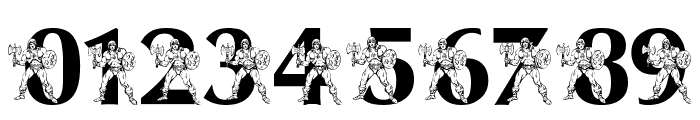LMS By The Power of Grayskull Font OTHER CHARS