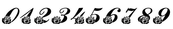 LMS Corinne's Roses Font OTHER CHARS