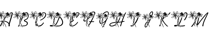 LMS Daisy Days Font LOWERCASE