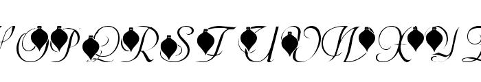 LMS Deck The Font Font UPPERCASE