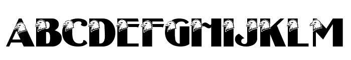 LMS Eagle Eyed Font UPPERCASE