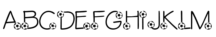 LMS Ethan's Game Font UPPERCASE