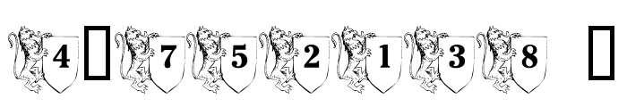 LMS Family Crest Font OTHER CHARS