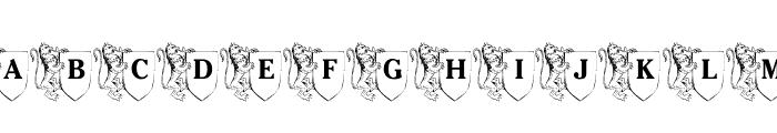 LMS Family Crest Font UPPERCASE