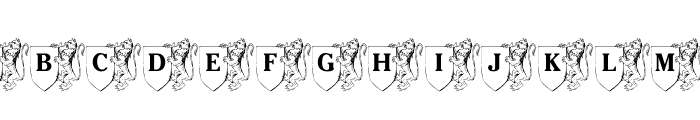 LMS Family Crest Font LOWERCASE
