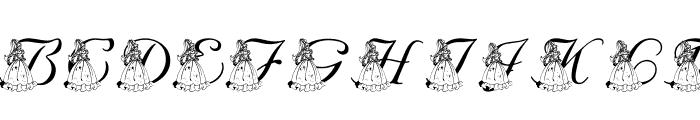 LMS For Princess Julie Font LOWERCASE