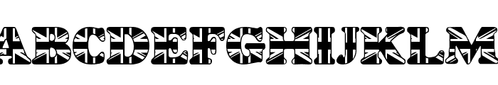 LMS God Save The Queen Font UPPERCASE