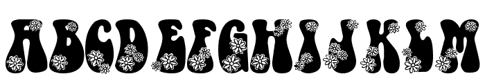 LMS Hippy Chick Font LOWERCASE