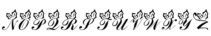 LMS Holly Jolly Christmas Font LOWERCASE