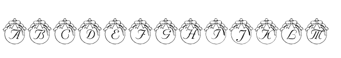 LMS How Lovely Are Thy Branches Font LOWERCASE