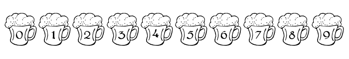 LMS Irish Beer Font OTHER CHARS