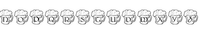 LMS Irish Beer Font UPPERCASE
