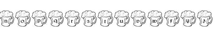 LMS Irish Beer Font LOWERCASE