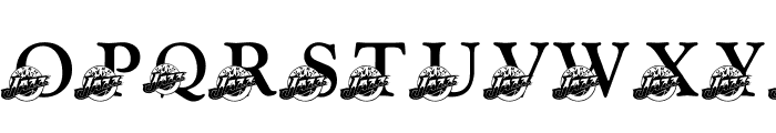 LMS Jazz Fan Font LOWERCASE